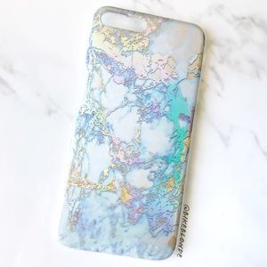 Accessories - NEW iPhone 7/8/7+/8+ Glossy Marble Soft Case